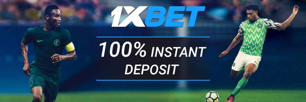 1xBet registration benefits